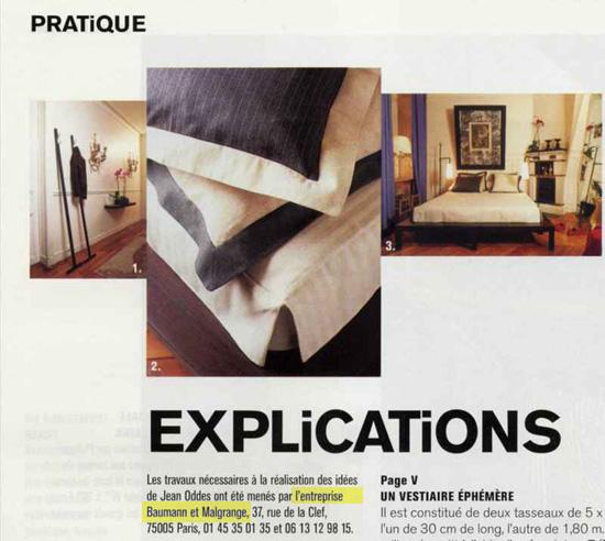 Recommandation Marie-Claire Maison