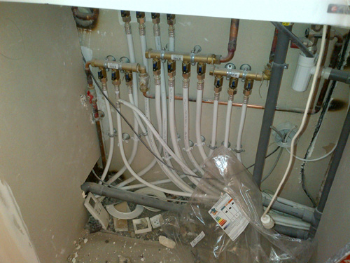 Refonte complète du système de chauffage - Installation PER