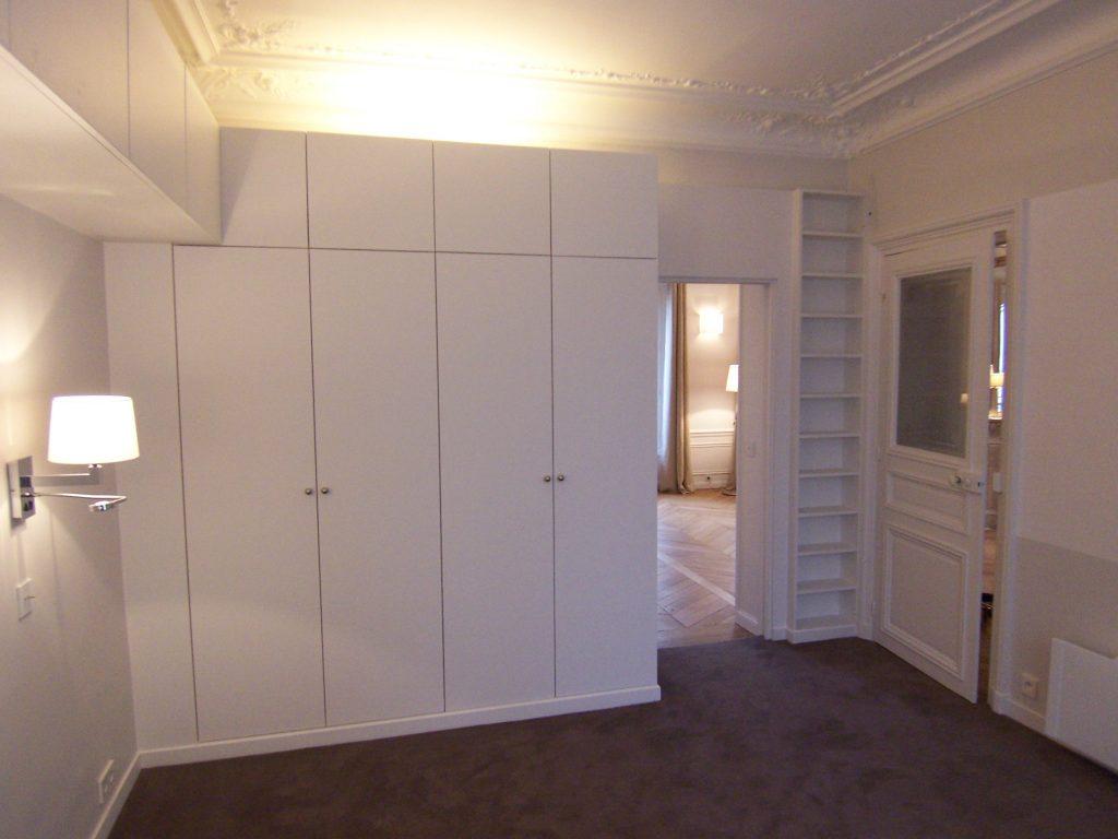 Création de rangement pour une chambre