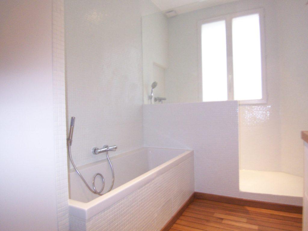La nouvelle salle-de-bain