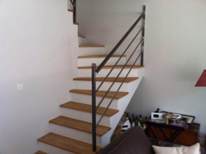 Fin des travaux - Escalier terminé