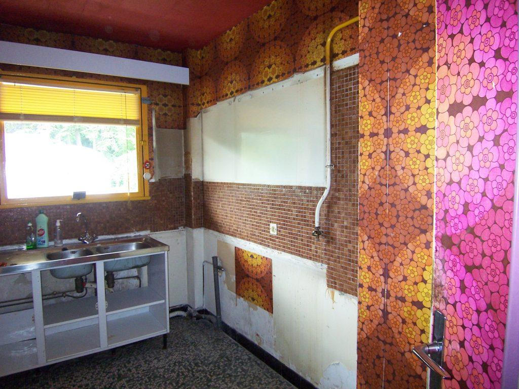 Réfection d'une cuisine vétuste