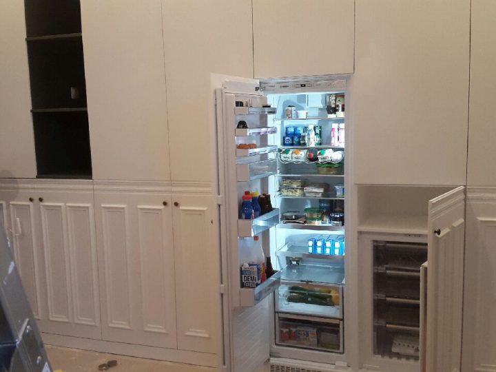 Création de placards dans une cuisine
